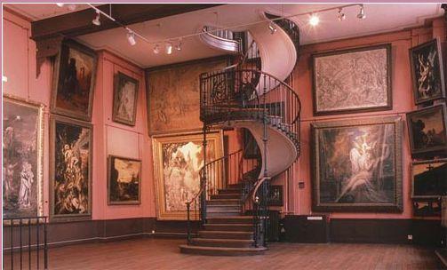 L'atelier de Gustave Moreau